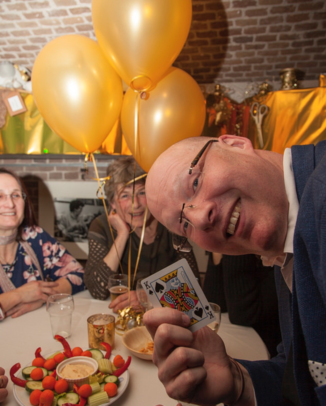 Foto's van het jubileumfeest door Anneke Kroonenberg