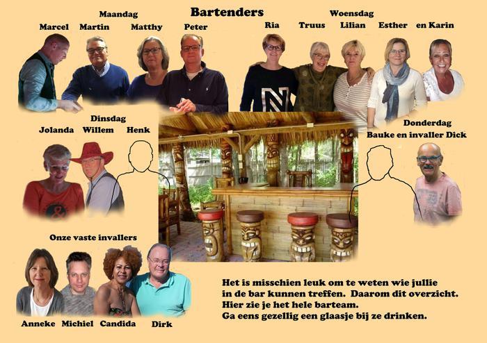 Bartenders groepsfoto