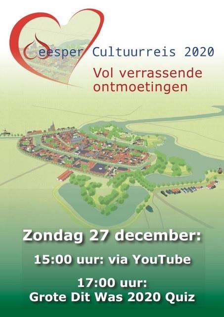 Weesper Cultuurreis 2020 en de KGW UPDATE