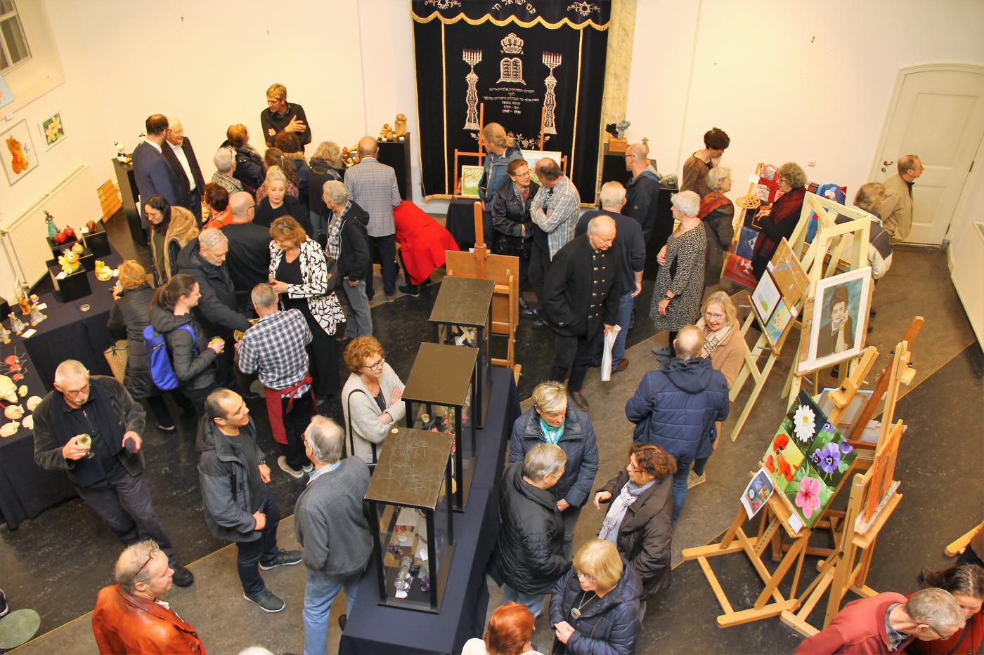 Expositie Synagoge geannuleerd, jammer