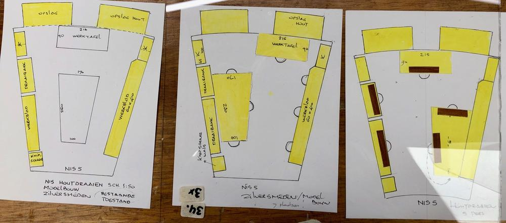 Nis 5: plattegronden
