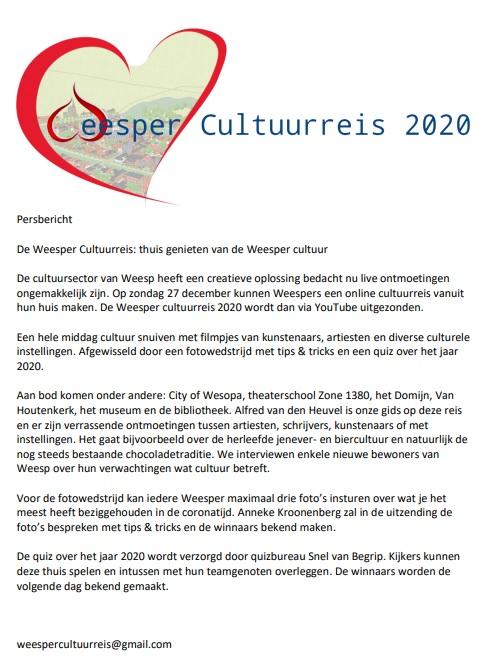 Weesper Cultuurreis 2020 Persbericht.jpg